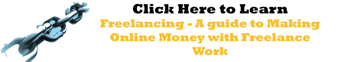 Freelancing - A Guide to Making Money Online with Freelance Work - Online Jobs From Home Without Investment