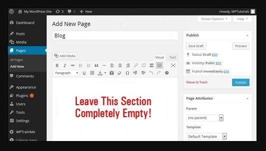 WordPress Add a Blog LearnedGold.Com - http://learnedgold.com/how-to-design-a-website-with-wordpress/