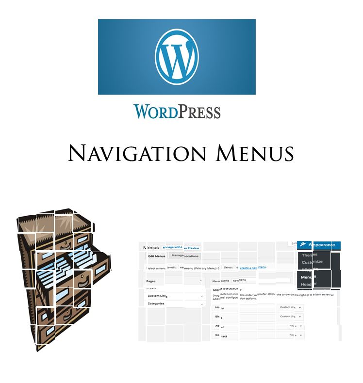 learnedgold.com - How to add a wordpress navigation menu to a website